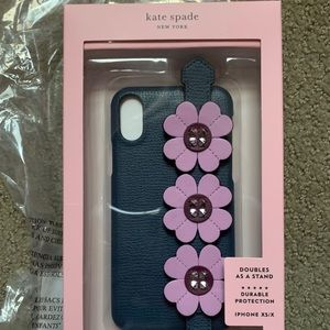 Kate spade leather iPhone XS case